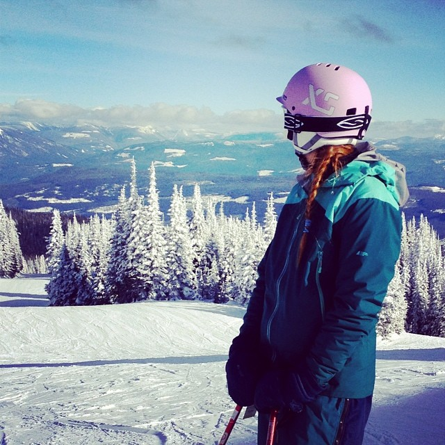 Beautiful #sunpeaks #mountain #snowhelmet #nature #ski #xshelmets