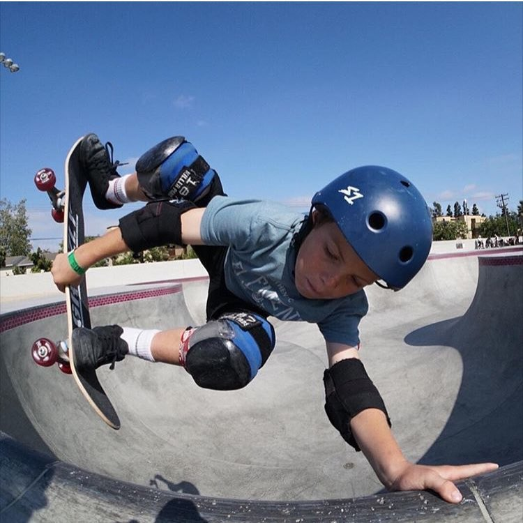 Rad shot of @luke__sk8r . Luke wears the S1 Lifer Helmet . #lukekahler #vanshb #s1lifer #s1helmets