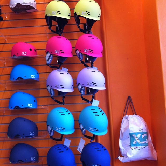 XS Helmets are now in stock @DenmanBikeShop at Main & 10th in #Vancouver #cycling #xshelmets #mainstreet