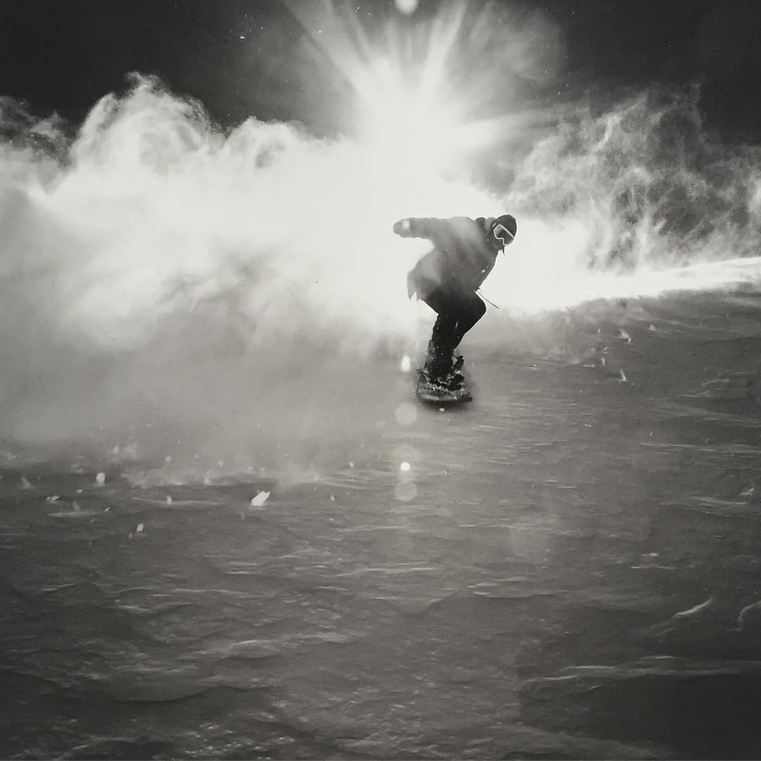 Turns out Asymbol artists are in to some rad shit! Head down to @nemodesign and take a gander at what @coreysmithsimulacrum and @springbreaksnowboarding has been getting in to. Get your fix of hand shaped snow sticks and photography.