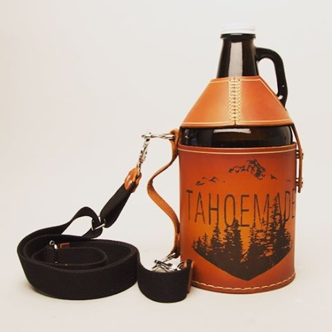 Take your brew with you with our growler carrier. _ #tahoemade