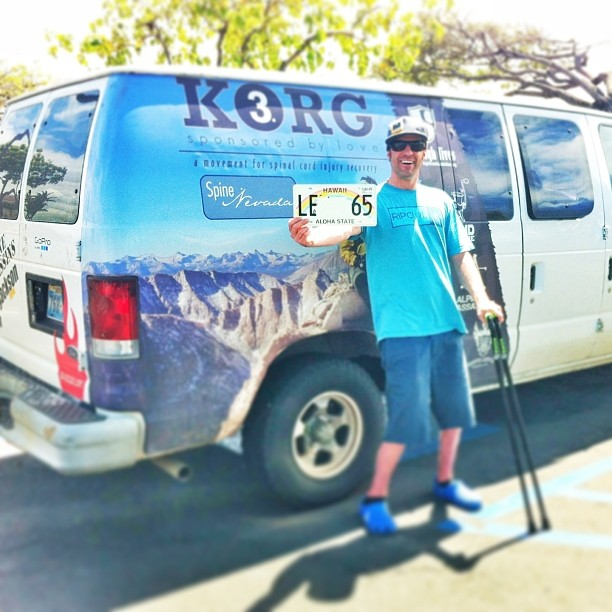 #FreeCandy's move to Maui is complete!!! To read more about FreeCandy's early adventures (and the critical role this van played in my #SCIinjury recovery), read my book #TwoFeetBack available on my website and at @amazon.com  Additionally, follow our...