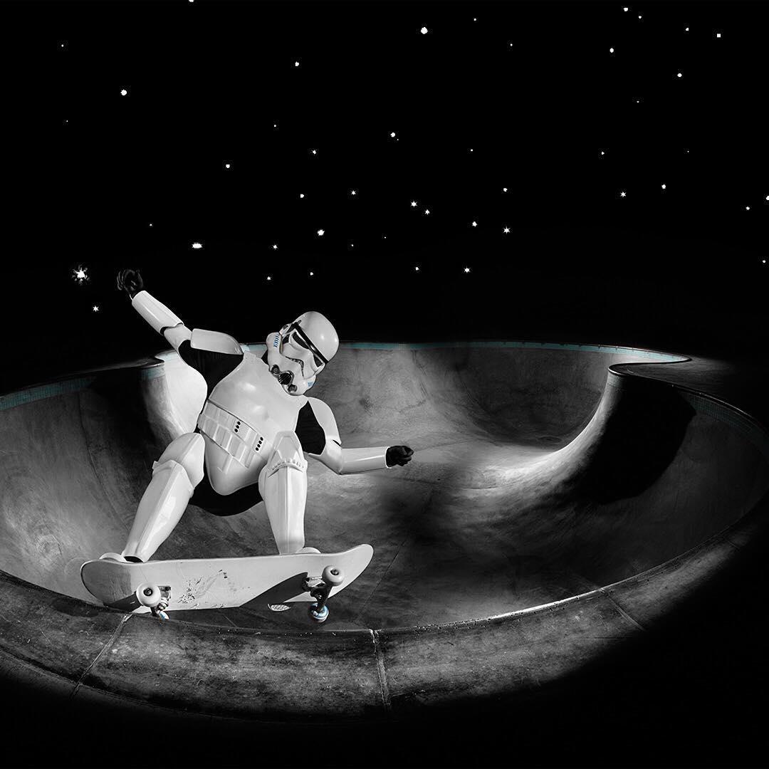Taking the galaxy by storm. #FBF #Nixon #StarWars #LightSide #DarkSide #RebelPilot #DarthVader #DeathStar