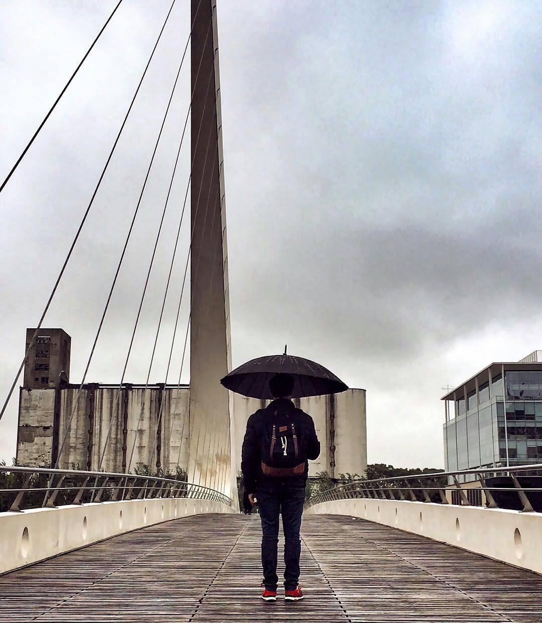 Con lluvia la ciudad también se disfruta