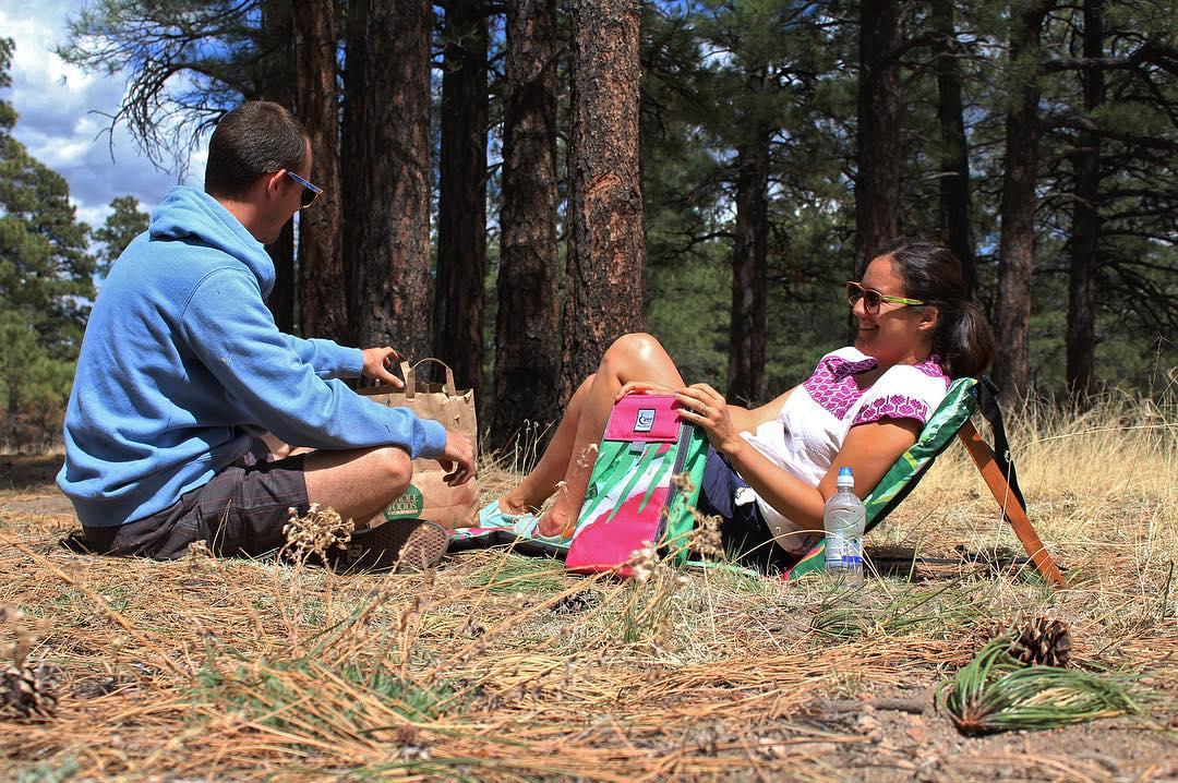 RoadTrip @arizona Parada estratégica de picnic! Estrenando los nuevos productos CHILLY.  #trancastyleliving