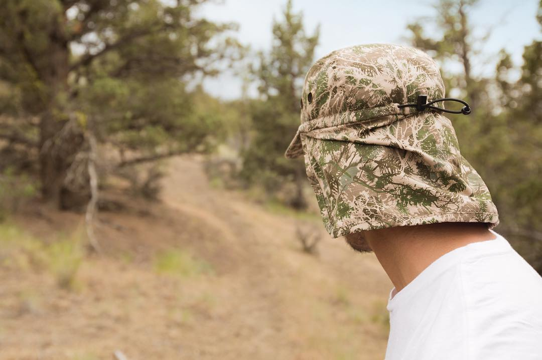 Look really hard and you can see @jessegouveia in The Trek cap. High desert camo is new for #Summer16.
