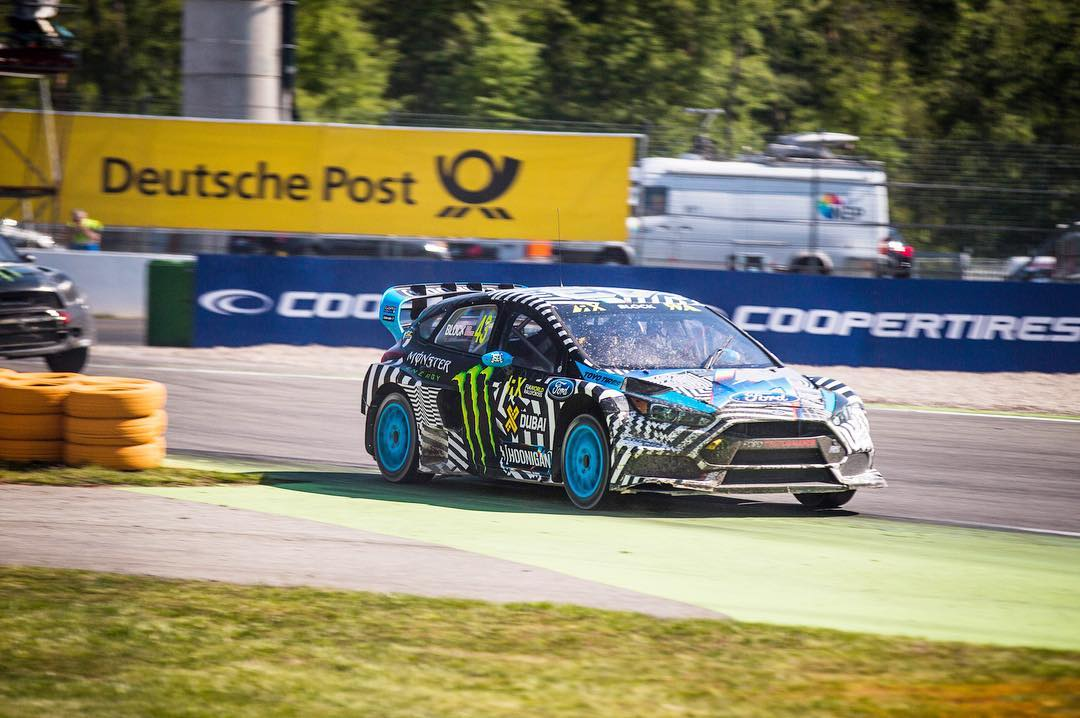 Just wrapped day 1 of @FIAWorldRX at Hockenheimring here in Germany. During this morning's practice session I was 5th fastest early in practice, but I struggled a bit in the two Qualifying races due to a broken prop shaft in Q1, and a puncture in Q2. I...