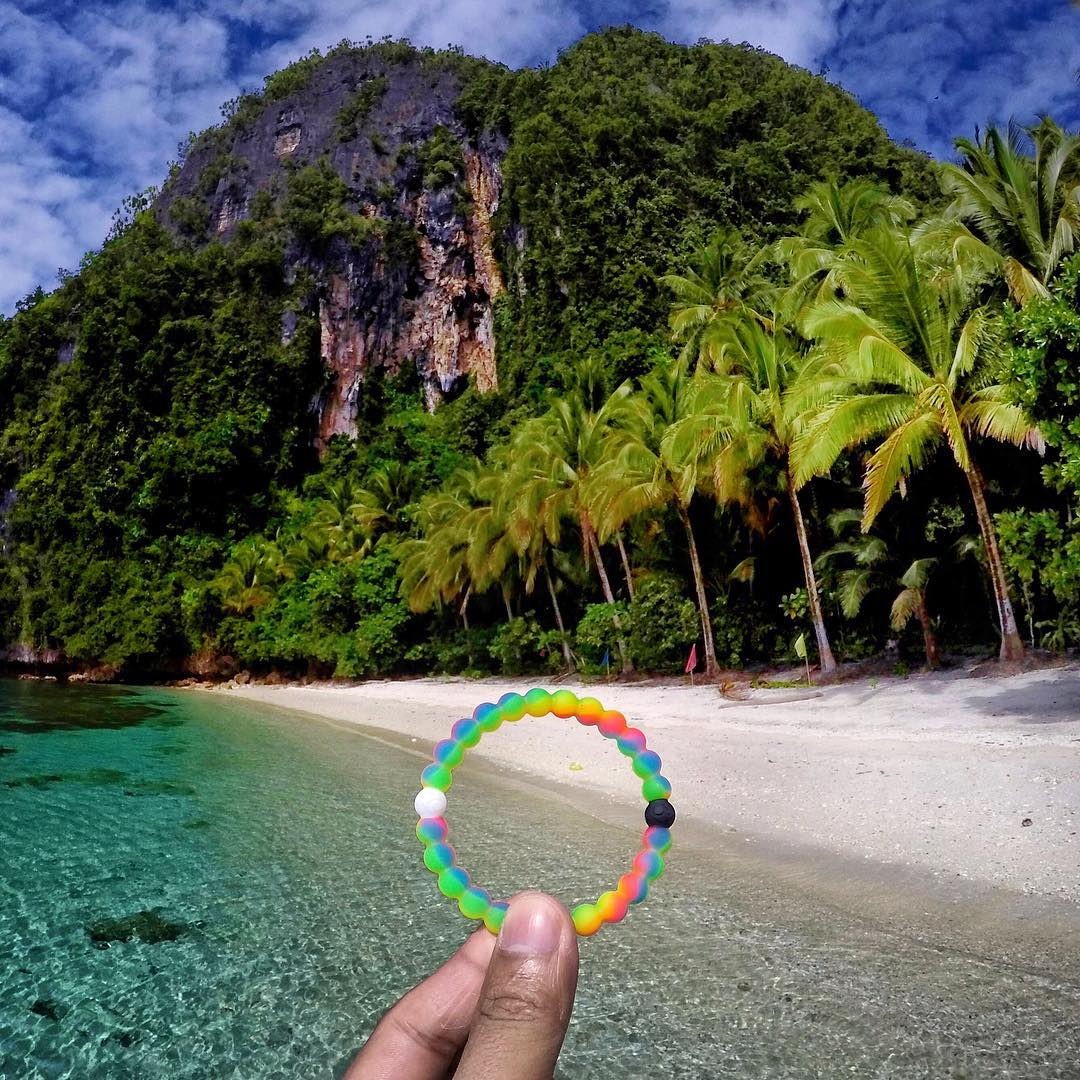 Palm trees and the ocean breeze #livelokai