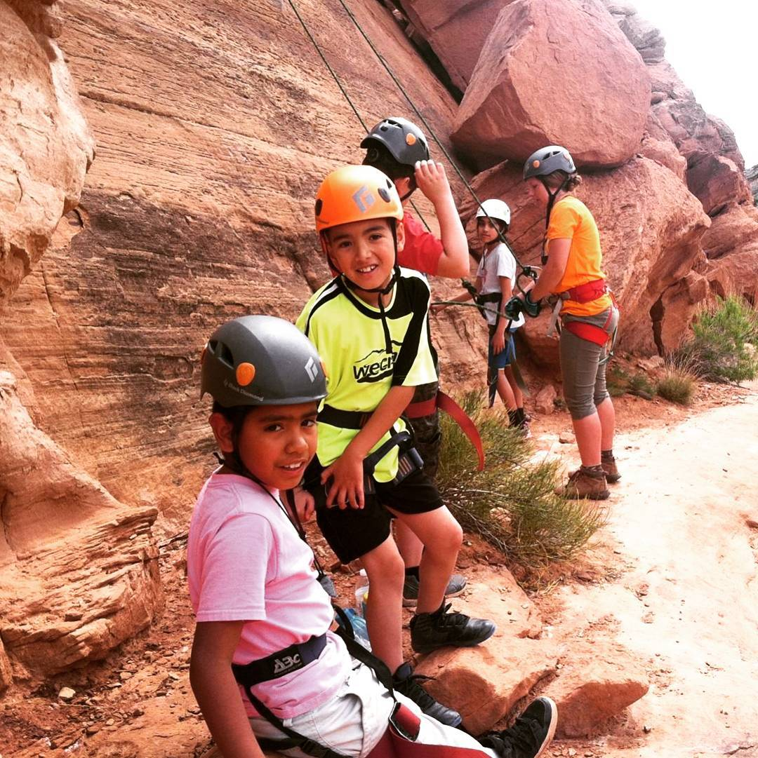 1st week of Monument trips complete! 70 kids from #Eagle County experienced our #nationalpark with beautiful #weather and #rockclimbing sessions to boot! #everykidinapark
