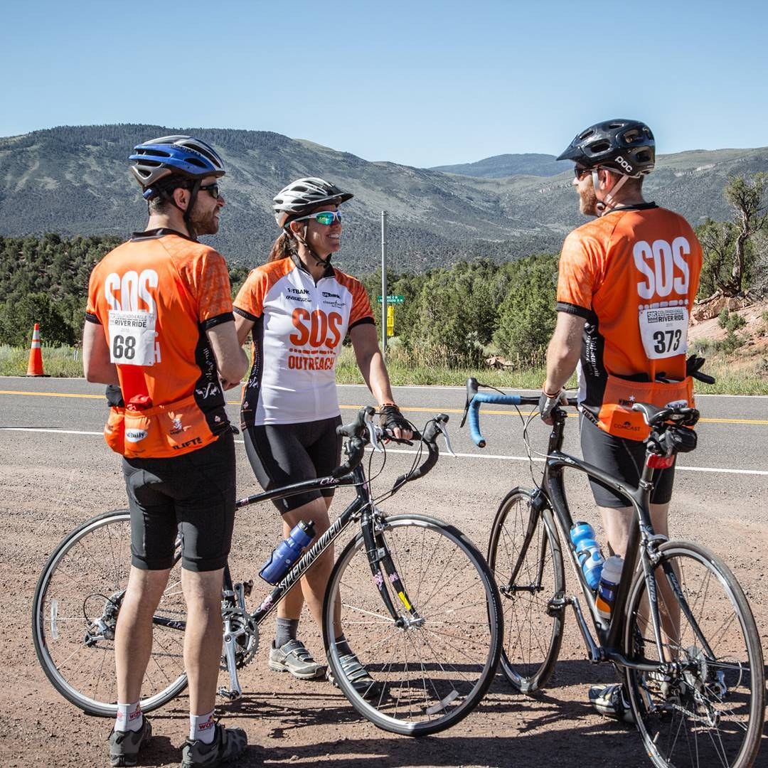 Join SOS for the 15th Annual-#Colorado Eagle River Ride on July 23rd! 100 miles of cranking it for a cause! #NEW this year is a #VIP pre-race celebration the night before, as well as the Roadhouse Ride, our 17.4 mile mountain bike ride throughout...