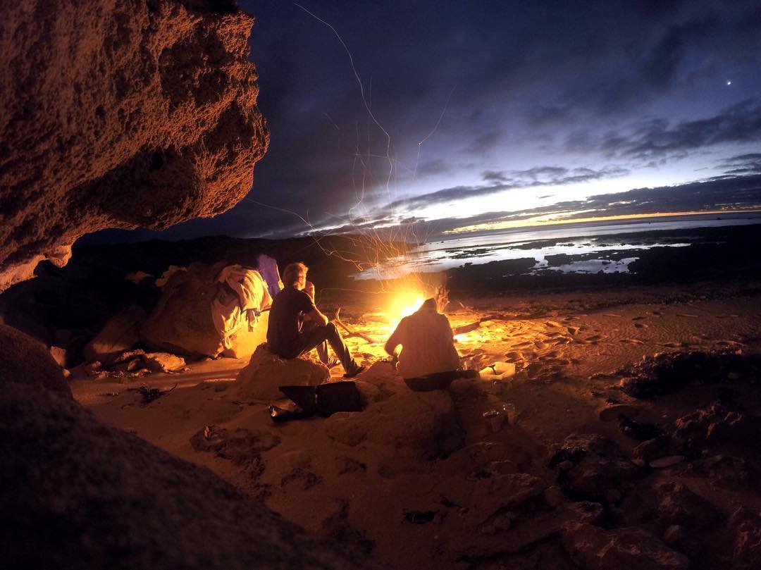 GoPro Featured Photographer + #GoProGirl @brinkleydavies  How  I got the shot: Back home in South Australia, it is easy to get off the grid and away from society for a few days, we drove 2 hours through scrub and sand dunes to get to our favourite...