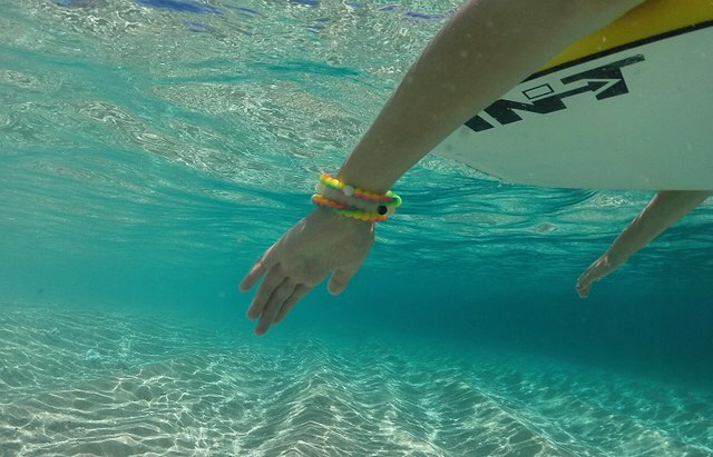 Sometimes you have to swim against the tide #livelokai Thanks @fijichili