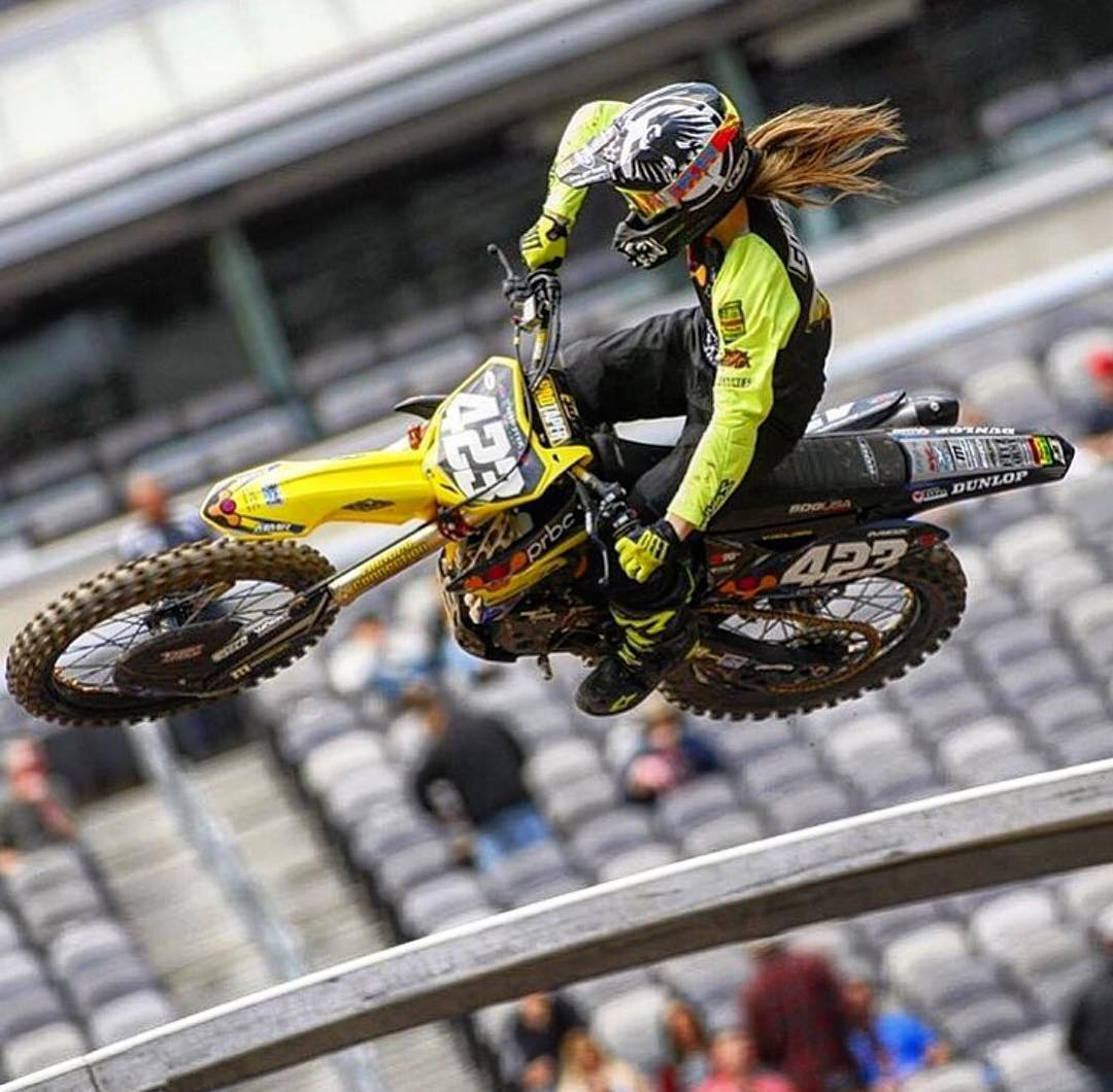 Best of luck to @VGolden423 at the @SupercrossLIVE FINALE in #Vegas