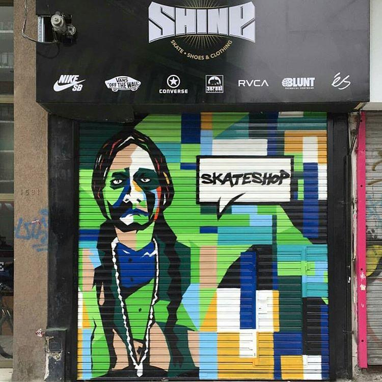 Se viene ...nuevo #shineskateshop en belgrano..