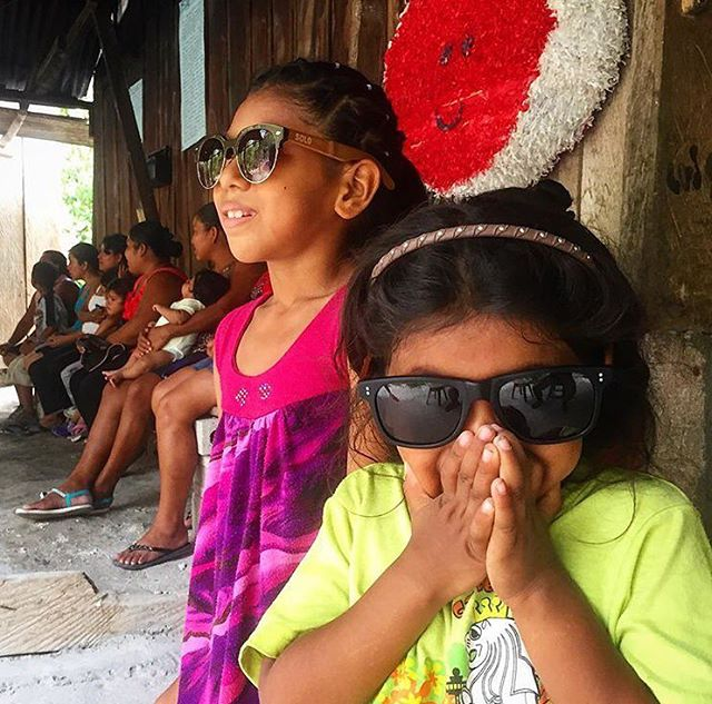 Good Morning Travelers These lovely little ladies are wearing our Kenya & Dominican frames.  PC