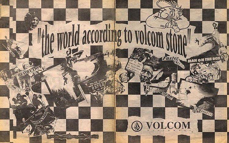 25 años atrás, en 1991 nacía Volcom! Feliz cumpleaños a la roca que nos empodera!!! X siempre #truetothis !!!