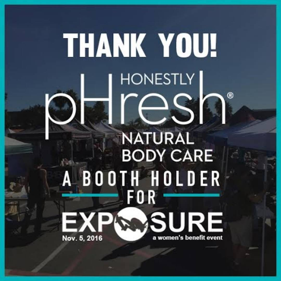 "We are so excited to get FRESH with Honestly pHresh Natural Body Care products! Thank You for holding down a booth for our event! ""PARABEN FREE •GLYCOL FREE • CRUELTY FREE • GLUTEN FREE • ORGANIC • NATURAL • VEGAN • ALUMINUM FREE • WORRY FREE"" Check..."