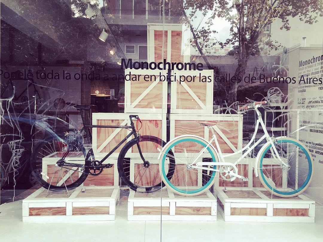 Hoy Max y Mei te esperan en Gorriti 5656!!!! Entre fitz roy y bonpland! #ilovemymonochrome #monochromebikes