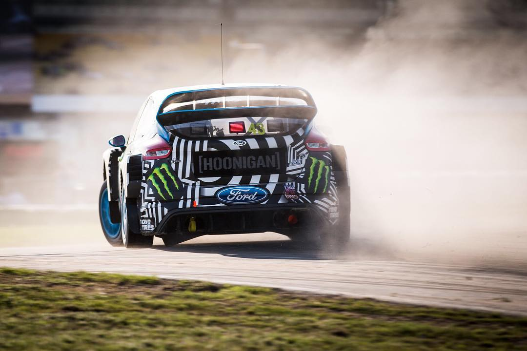HHIC @kblock43 battling it out today, but hard work paid off. Tune in tomorrow for the @fiaworldrx semifinals!