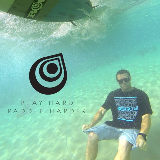 Balance is key. Always find a balance between work time and play time.  PLAY HARD, PADDLE HARDER  @joshriccio #playtime #ocean #hawaii #almostsummer