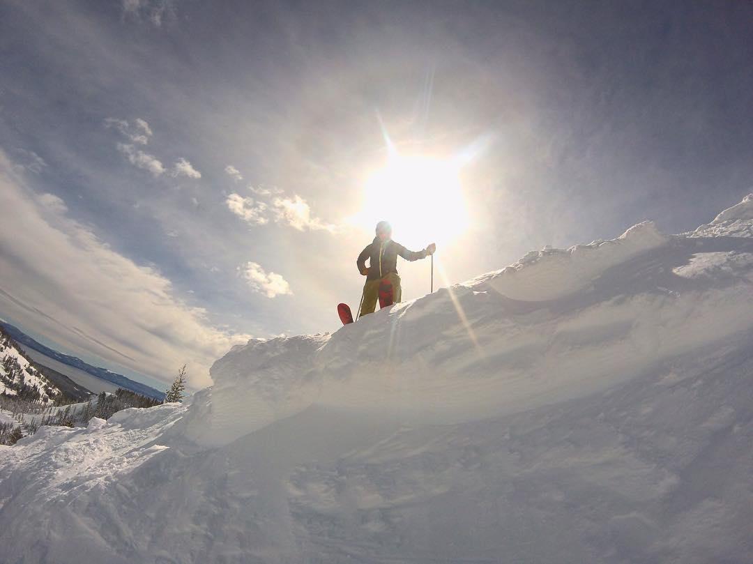 Spring skiing and the feeling is GOOOOOOD.