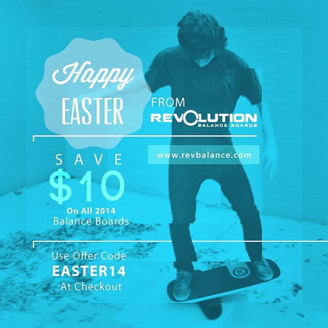 Check it out, use code EASTER14 at checkout for $10 off. www.revbalance.com