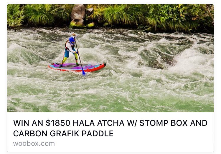 Here's your chance to win a brand new 2016 Hala Atcha and Carbon Grafik Paddle from @cksonline!! http://woobox.com/mig43y/h9jqah  #halagear #whitewaterdesigned #adventuredesigned #isup #inflatable #whitewatersup #winning #winaboard #sup #standuppaddle