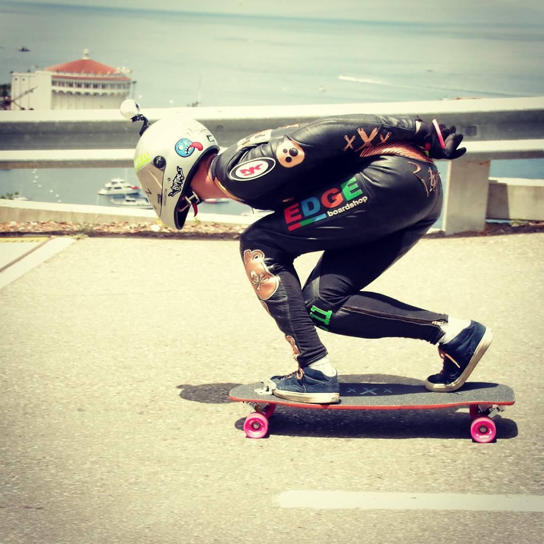 @desgnarlais in a hurry atop this Catalina Classic #getsome