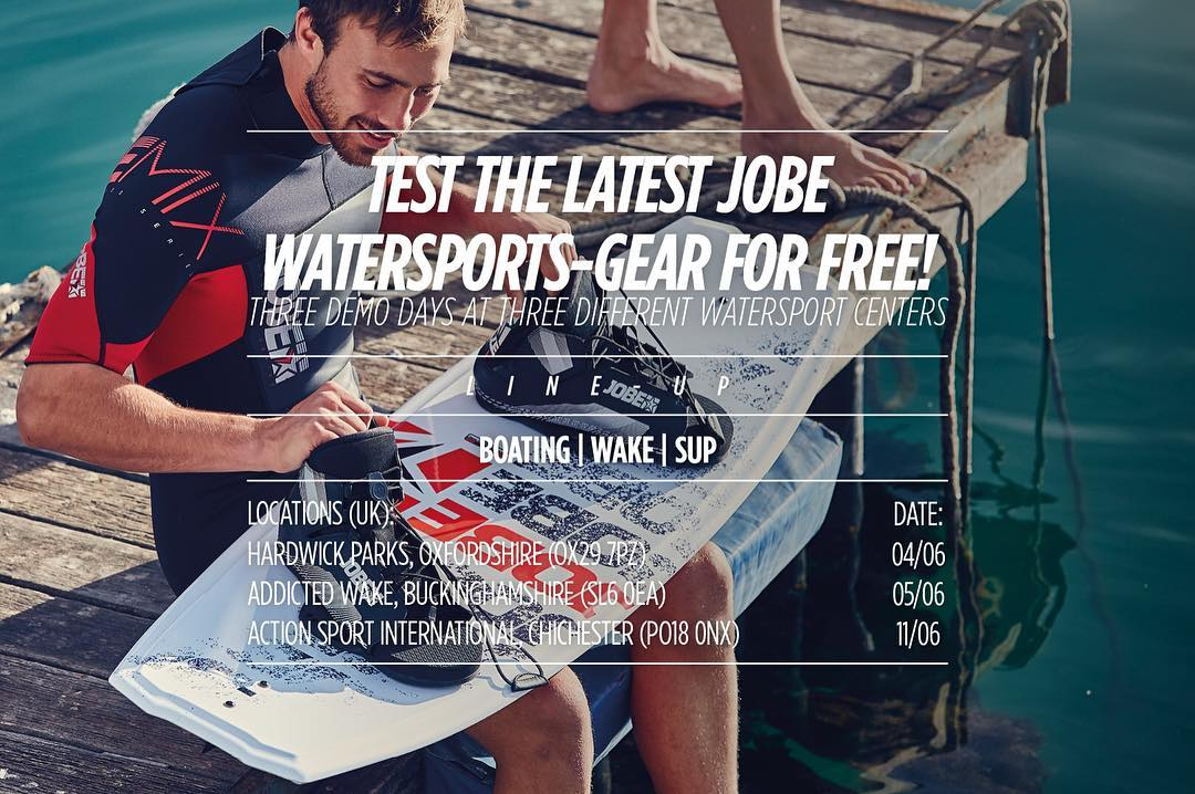 The waterparty continues. Test our boating, wakepark AND SUP-products for free at these waterport centres! #watersports #sup #wakepark #boating #test