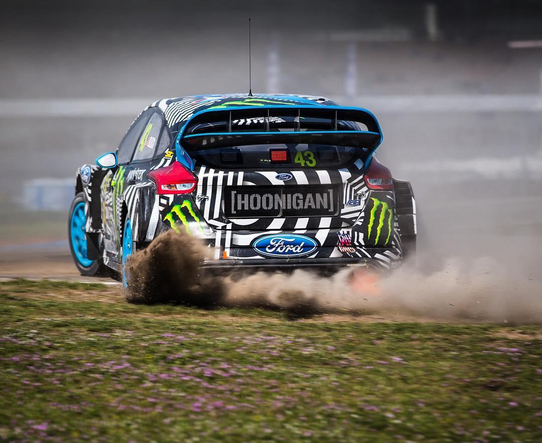 Dirt drops and fire pops. @FIAWorldRX #HockenheimRX #FocusRSRX #FordRallyX