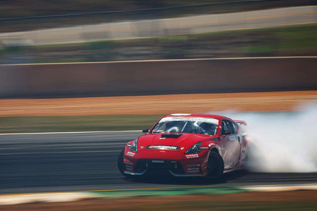 Looking forward to the next time we hear @geoffstoneback piloting his 1000hp, naturally aspirated, 370z. #stopthehategetav8 #FDATL photo by @larry_chen_foto