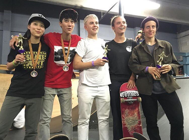 Yesterday history was made. First ever @xgames qualifier went down hosted by @skatelikeagirl. Results: 1. @suminaynay  2. @aori_nsmr  3. @leeroythegreat  4. @jennsoto_skates  5. @savheadden  Massive congrats to Jenn & Aori who earned the two wildcard...