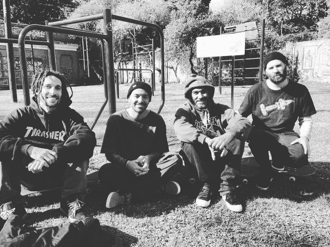 Hablemos de #Skateboarding Mariano, Giani, el Tuku y Juano #goodtimes