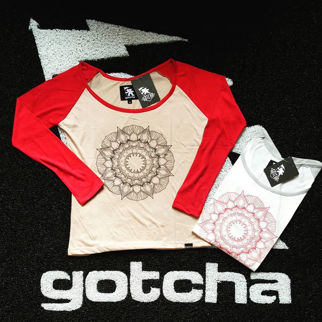 Gotcha Girl #Mandala Tee  #gotchagirl #iconsneverdie