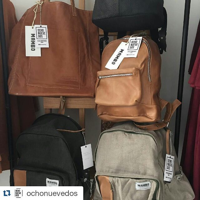 Buscanos en @ochonuevedos , Tandil !  #Repost @ochonuevedos with @repostapp ・・・ Mambo mochilas