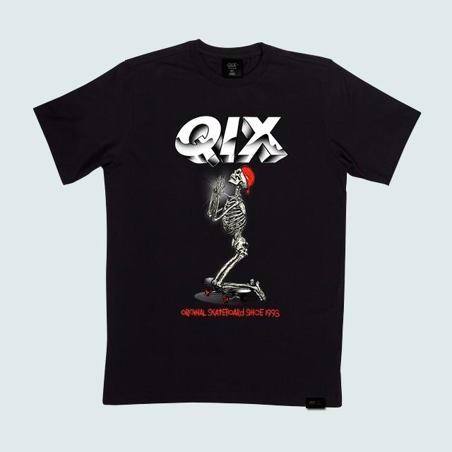 Rock and Roll deixando sua marca em nossa coleção: Camiseta Qix Rock Art disponível na loja online e nas revendas autorizadas por todo o Brasil  #Lifestyle #Qix #Skate #StreetWea