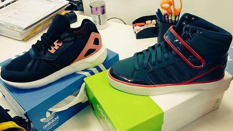Cuando una es manija y se compra dos pares de #zapatillas