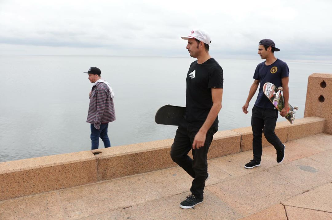 Ziquiel, Juanma y Ruper #uruguaytour  video soon!