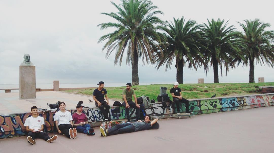 Hoy por la tarde en el #uruguaytour #sismo