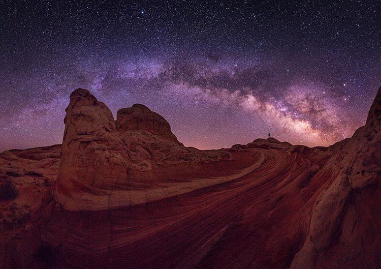@irockutah's night shots tell such an amazing story. So many arcs reaching up toward the sky