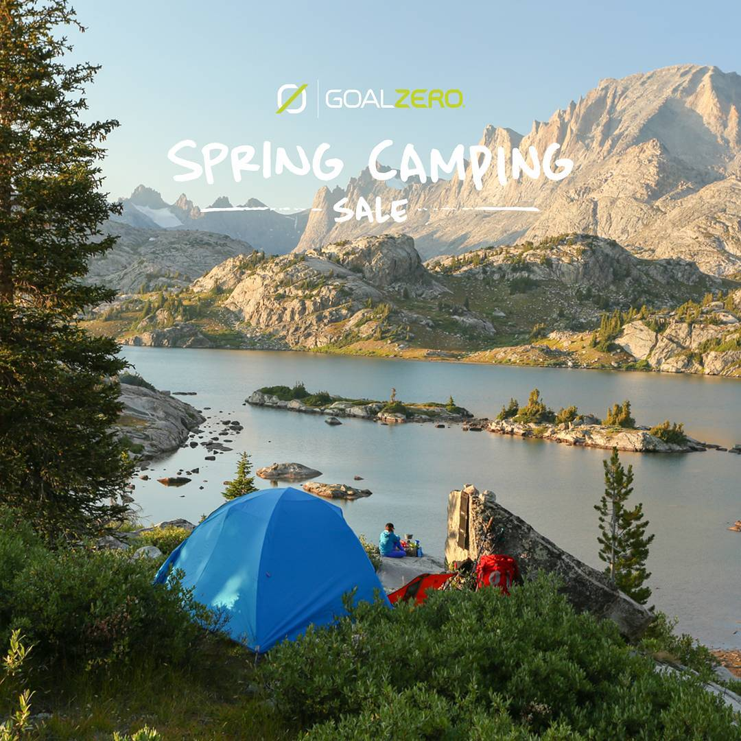 Our Spring Camping Sale is under way! If you're looking to outfit your camp with power and light, now's the time.  To learn more follow the link in our profile  Lighthouse 250: Reg $79.99 : Now $59.99 LAL Mini: Reg $24.99 : Now $19.99 Guide 10 Kit: Reg...