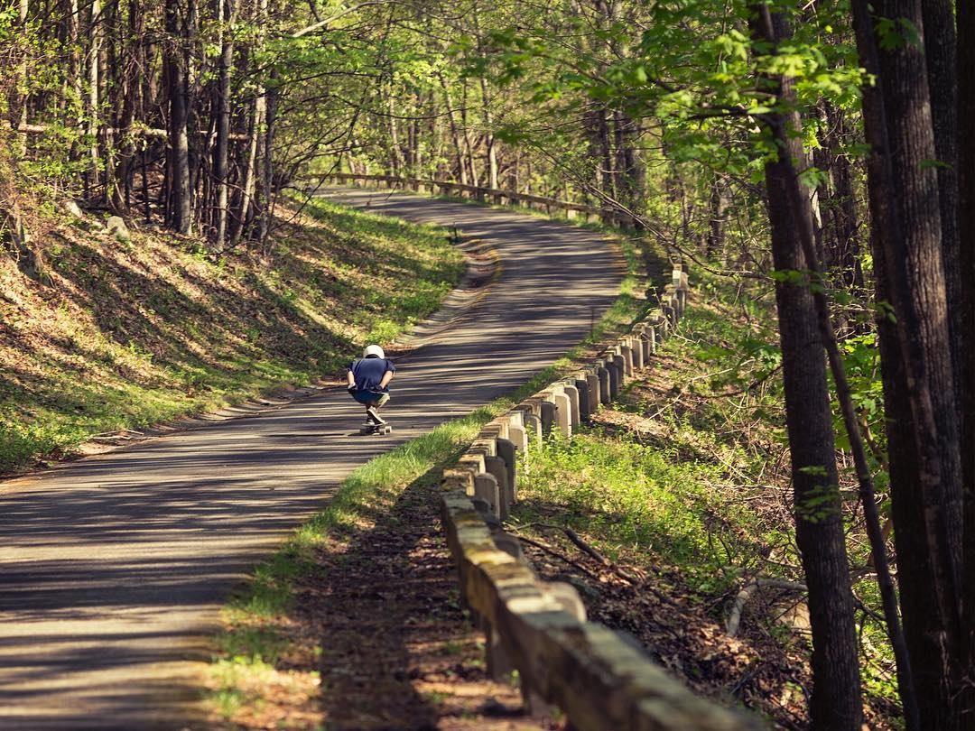 It's not always an uphill battle but when it is, Matt K isn't phased, he's just along for the ride.  Roanoke, VA |