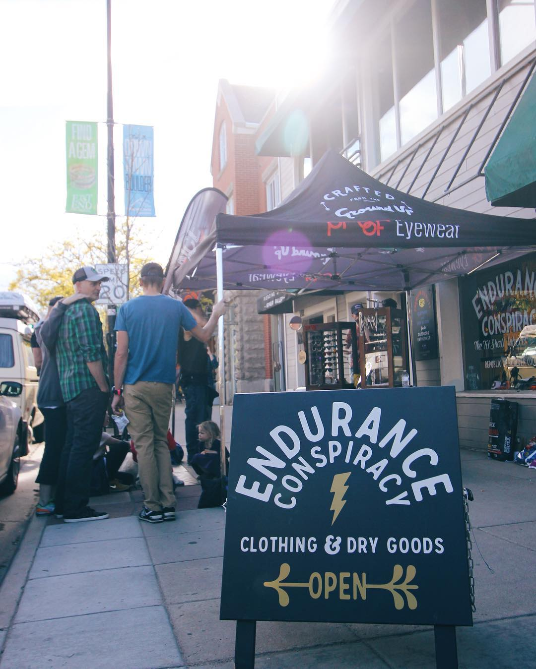 The @airstreamtour is at @enduranceconspiracy in Boulder, CO until 8pm tonight - if you're in the area, swing by & grab a hot dog #enduranceconspiracy