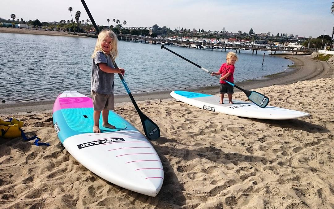 Training for the 2028 Olympic games starts now! #sup #standuppaddle #paddle #roguesup  #playhardpaddleharder #freefromall #grom #gromlife #thefuture