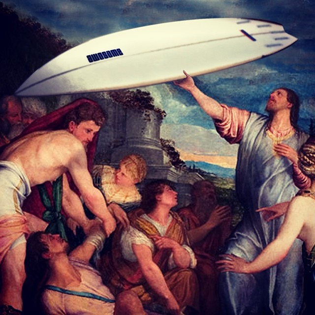 AWESOME since 1722  #awesome #awesomesurfboards #surf #surfing #sleds #historyrewritten