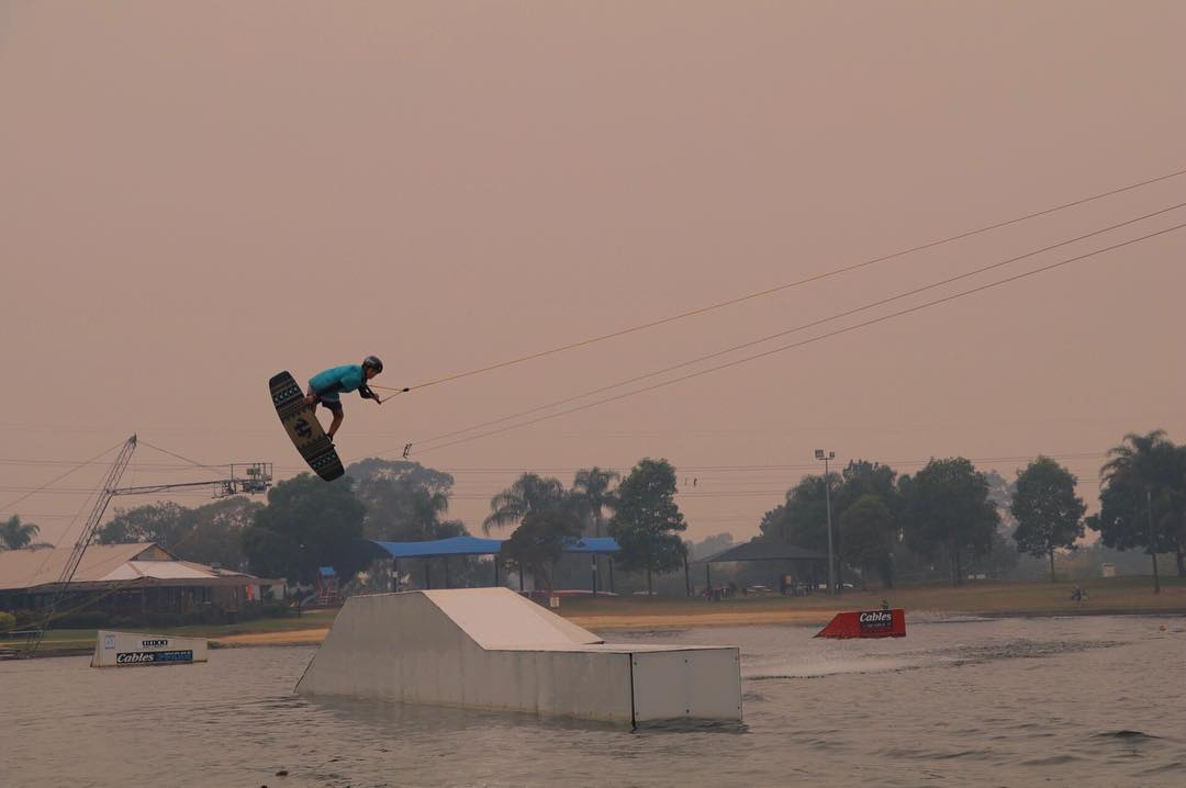 @kyle_richardson__ Method on a smokey bush fire afternoon @cableswakepark