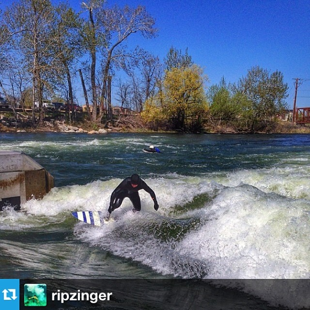 Ride waves, wherever you find them. #Repost from @ripzinger #roadtoholybowly