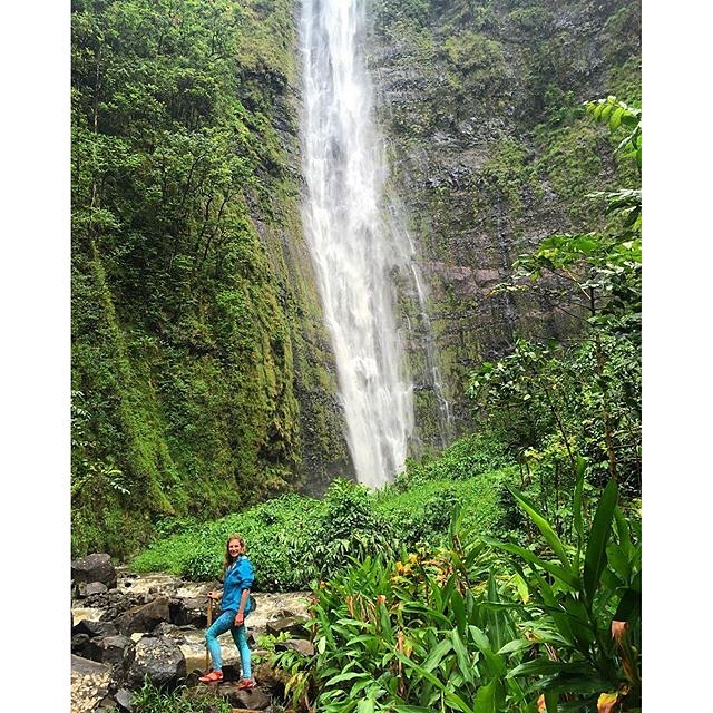 "GET OFF THE BEATEN PATH #traveltuesday #repost @rachshredgnar ""Definitely didn't stick to the rivers and the streams that we're used to"" #chasingwaterfalls #maui #hawaii #roadtohana #aloha #sea #street #studio #waterfall #OKIINO #wanderlust..."