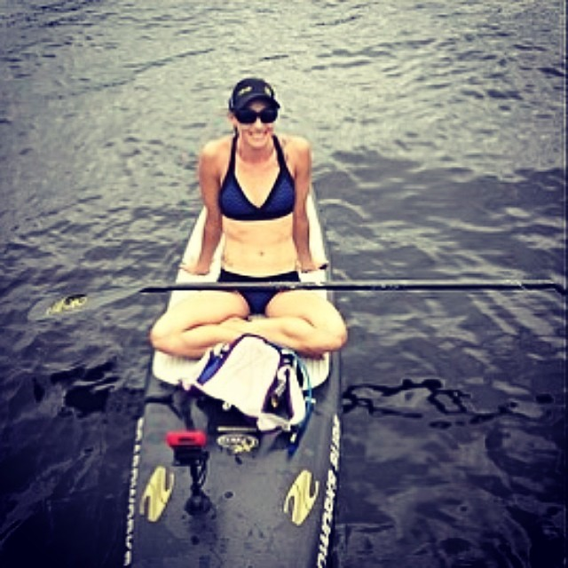 Congrats to @waveofwellness Jessica Cichra for leading team @boardworkssurfsup to victory in St. John's River! Love the black/chevron #localhoney #bikini and your new board is looking stealthy! Looking forward to seeing you all @racethelake!...