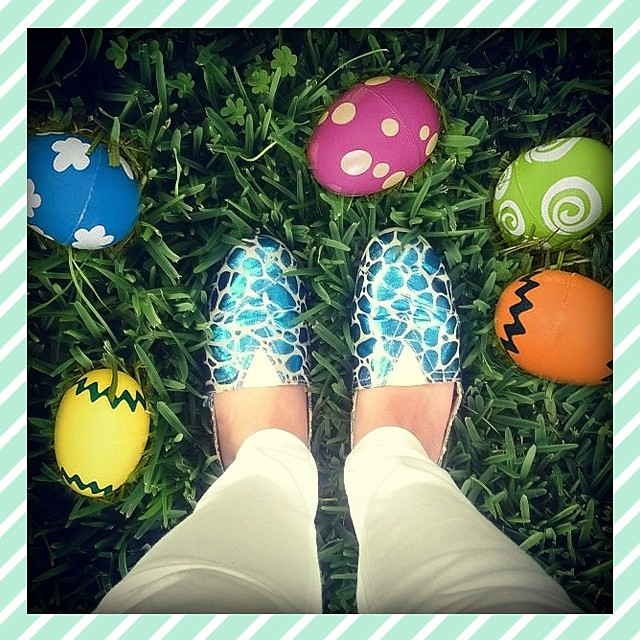 Happy Easter ⓔⓖⓖ Hunt !!! #EasterEggHunt #Easter #Paez #PaezShoes #EasterEggs